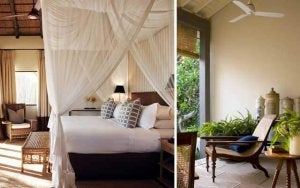 Out of Africa home decor textures