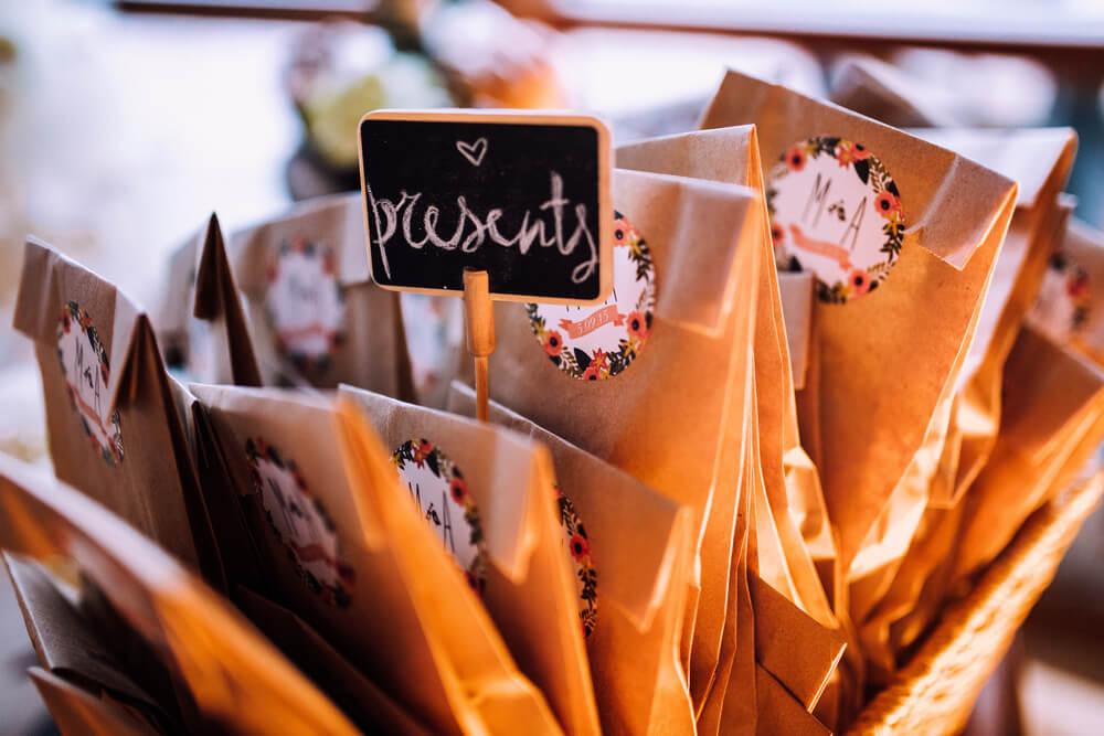 autumn wedding detail
