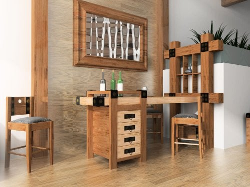 Make Your Own Home Bar for Your Living Room