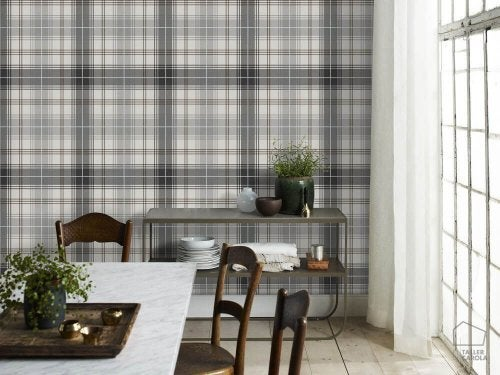 How to Use Checked Fabric in your Decor