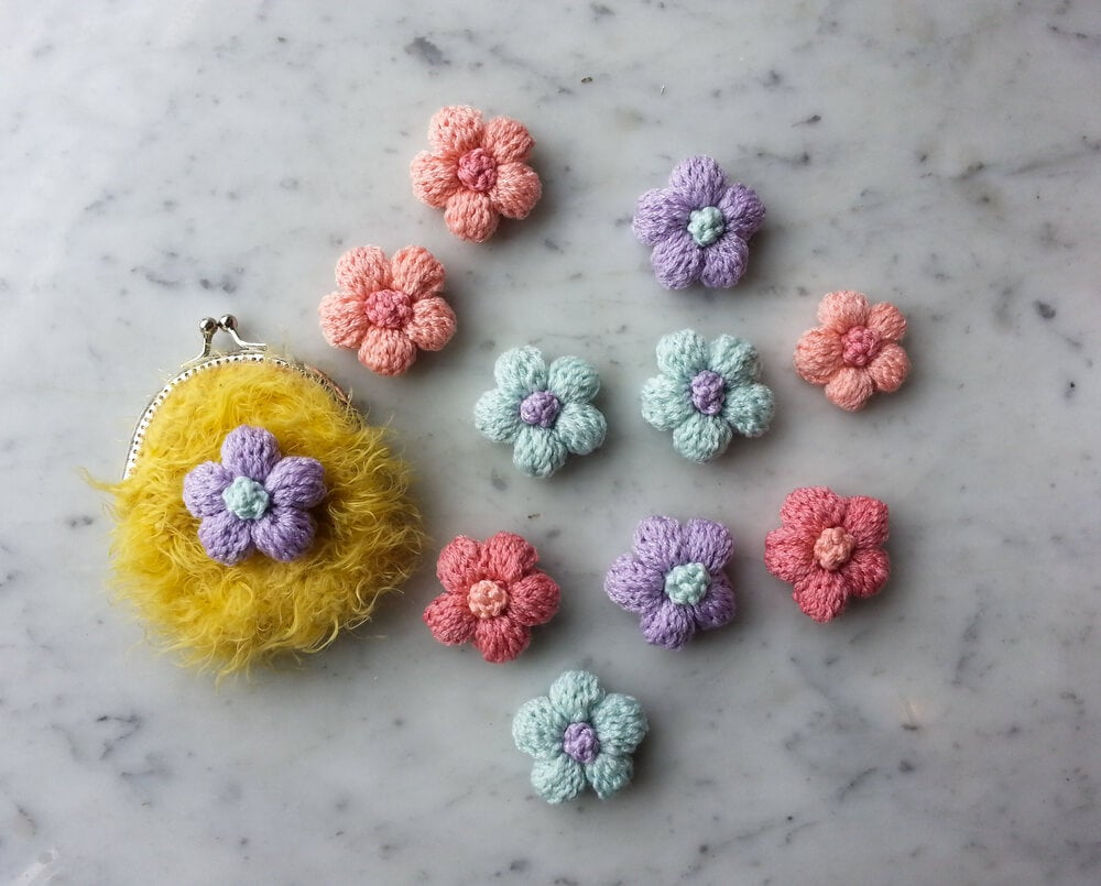 crochet flowers ideas