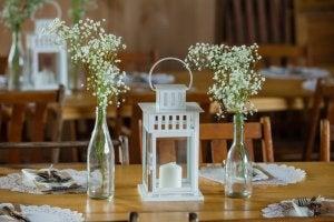 Table lantern.