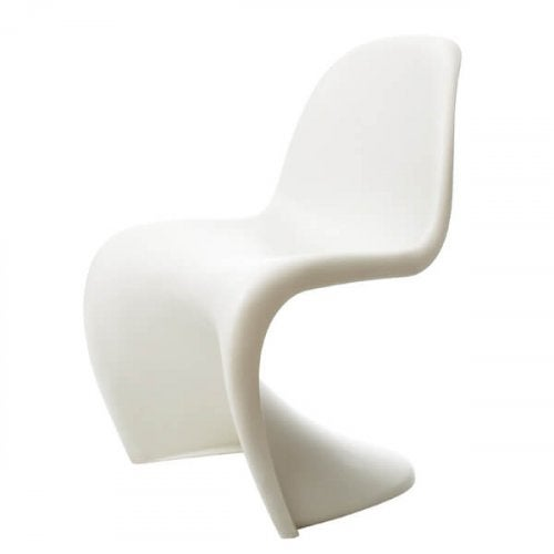 A Panton chair.