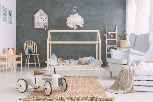A Montessori room.