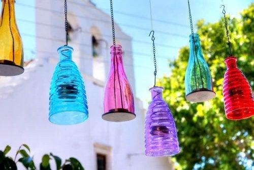 Ceiling Light Glass Fixtures - Five Designs