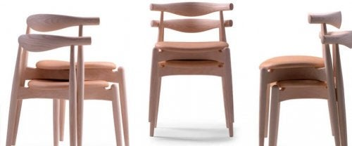 A set of Elbow designer chairs.