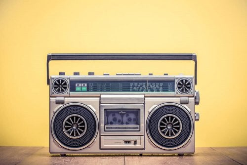 Vintage Boomboxes and Tape Players