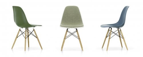 Eames DSW chair.