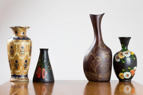 Artisan Crafted Wooden Vases for Your Home
