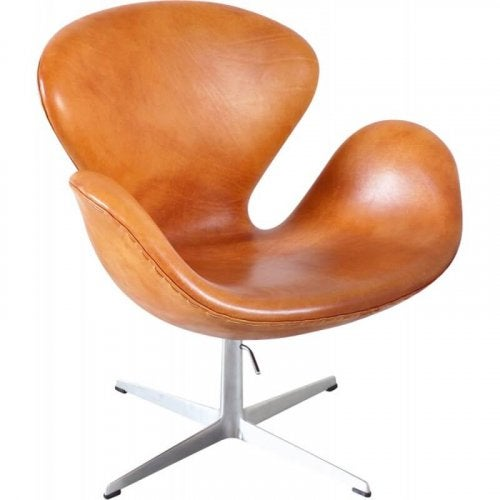 The Swan designer chair.
