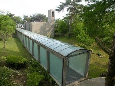 Chapel on Mount Rokko by Tadao Ando.