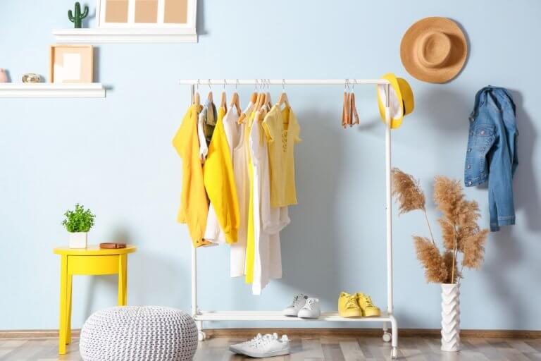 Clothes Racks and Coat Hangers with Fresh Designs