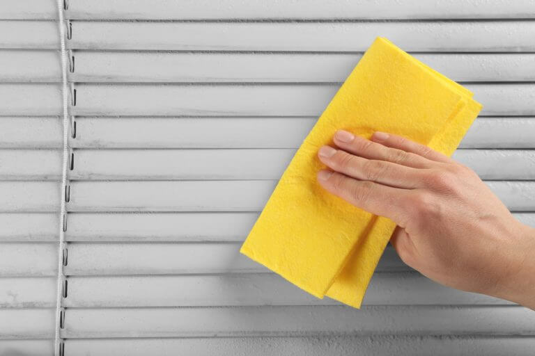 exterior blinds cleaning