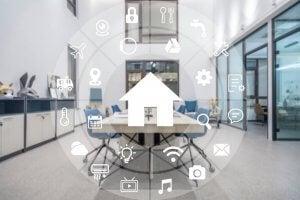 High tech smart homes.