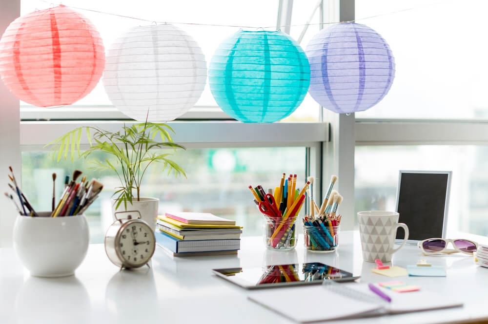 home office feng shui
