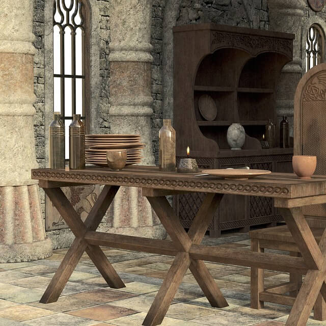 medieval decor references