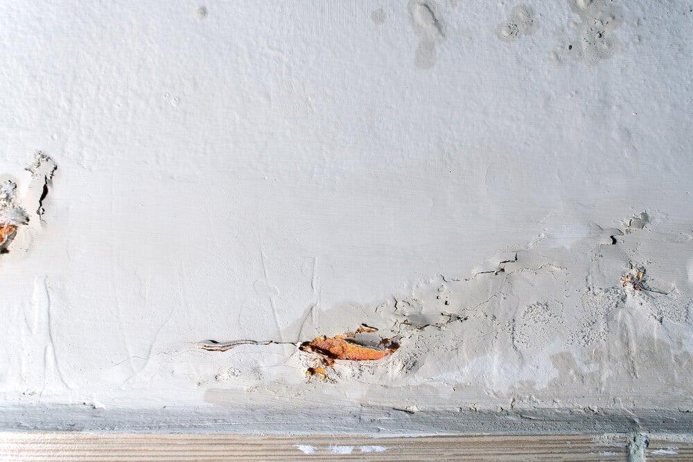moisture problems wall condensation