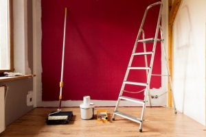 Repainting can help speed up the sale of your property.