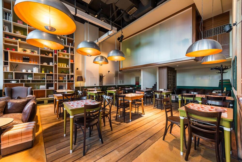 restaurant decor lighting