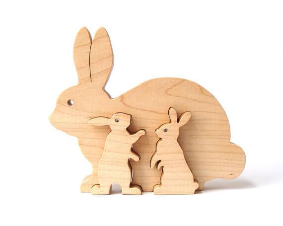 wooden animals wood
