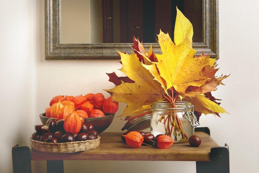 autumn home decor colors