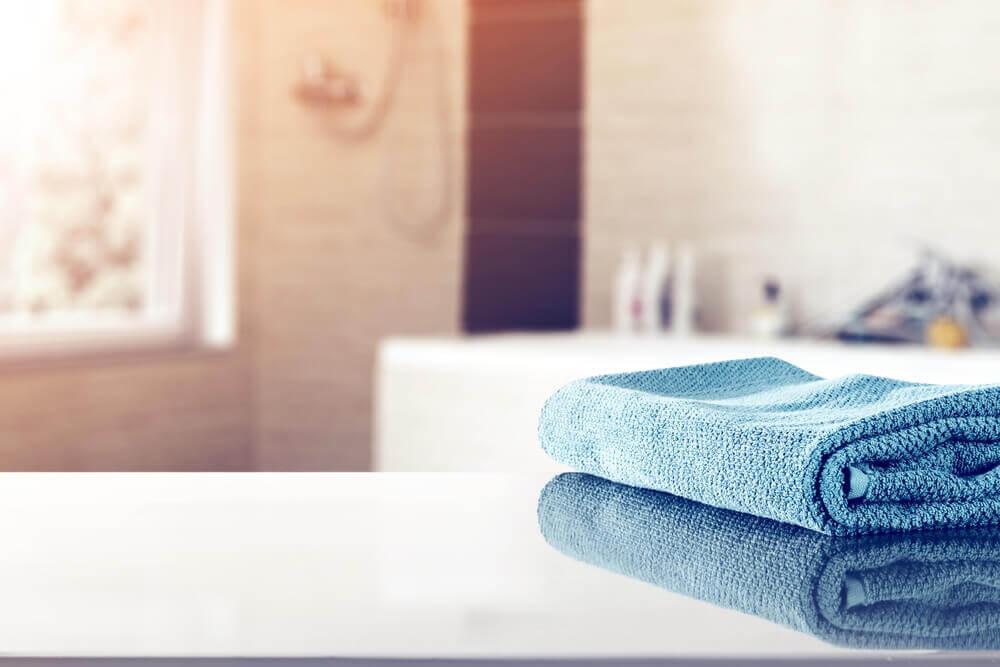 bathroom towels mats