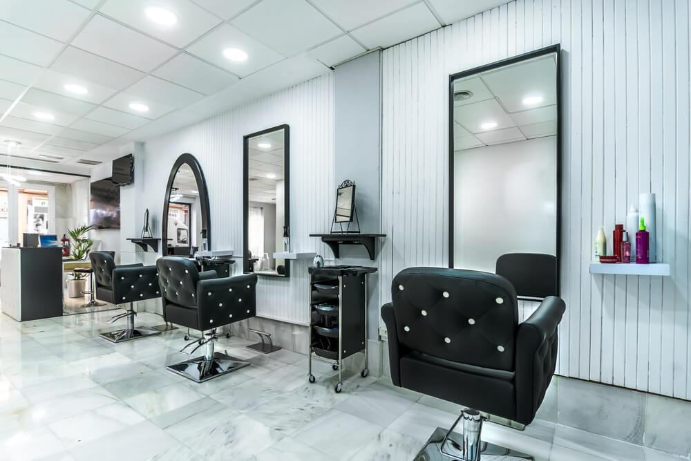 beauty salon colors