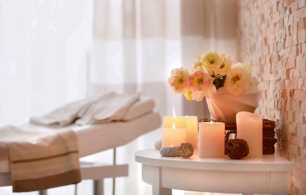 beauty salon decorative elements