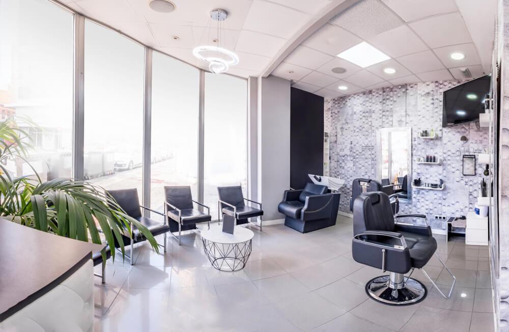 beauty salon layout