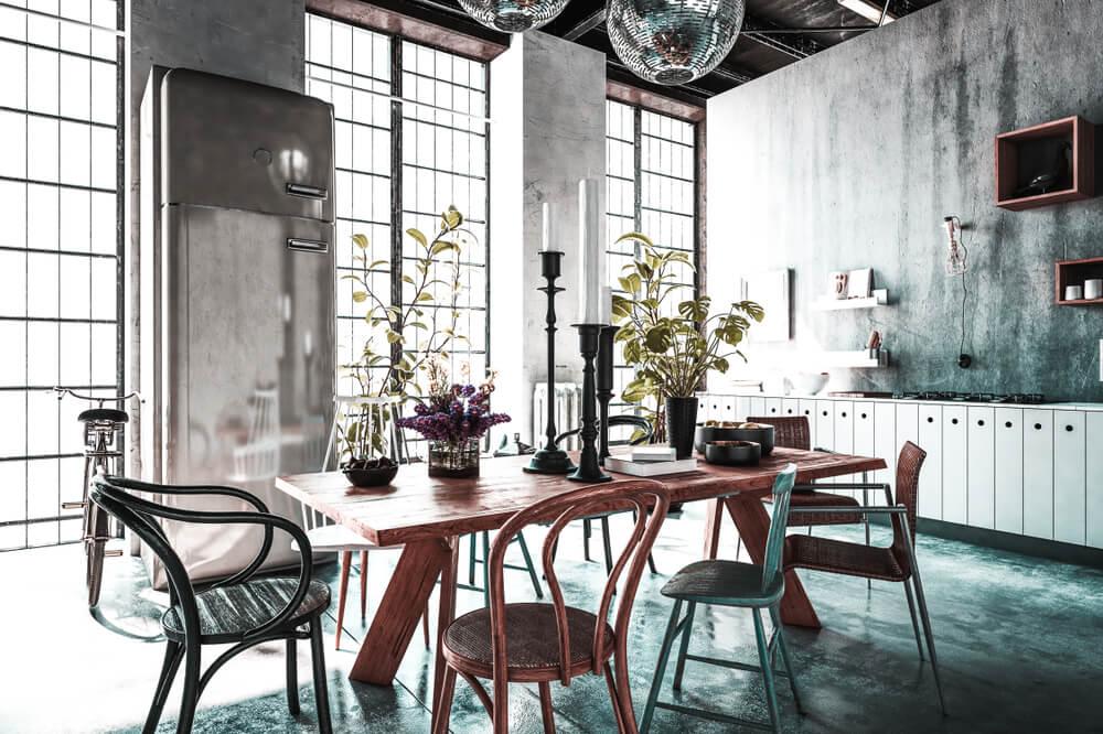 eclectic decor characteristics