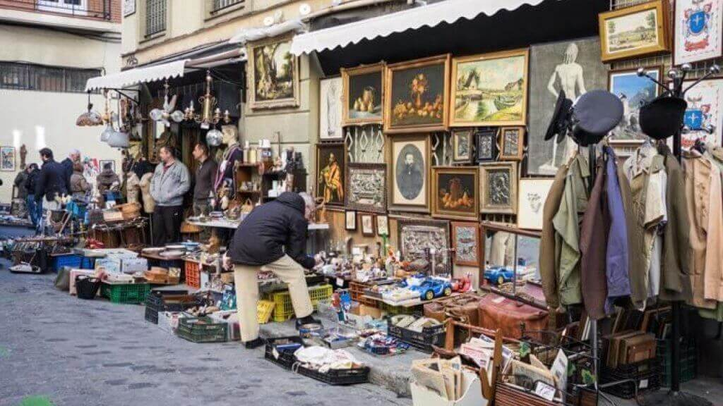 flea markets madrid