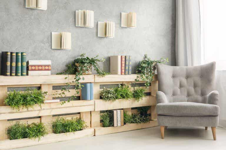 How to Decorate with Floating Bookshelves
