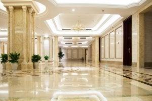 Classical decor.