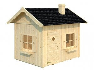 Assembling your wooden playhouse.