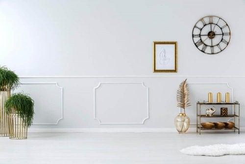 A minimalistic room.