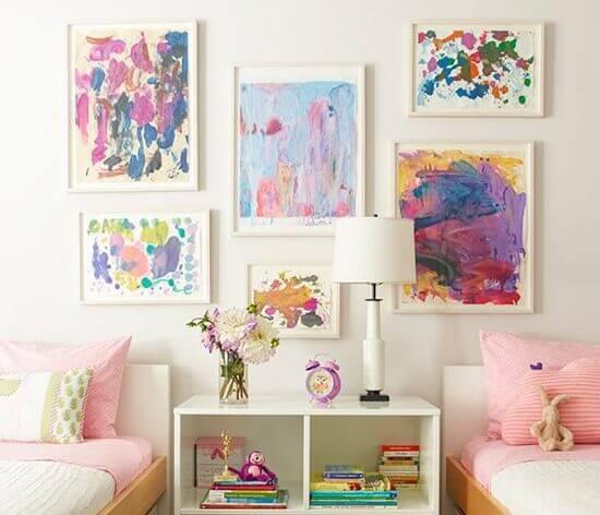 decorating frames artwork