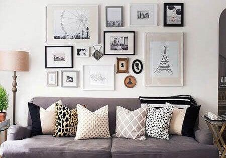 decorating frames mix