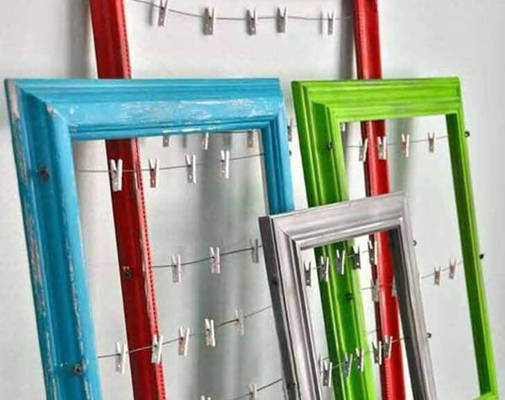 Decorating frames photos