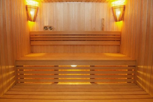 home sauna screens