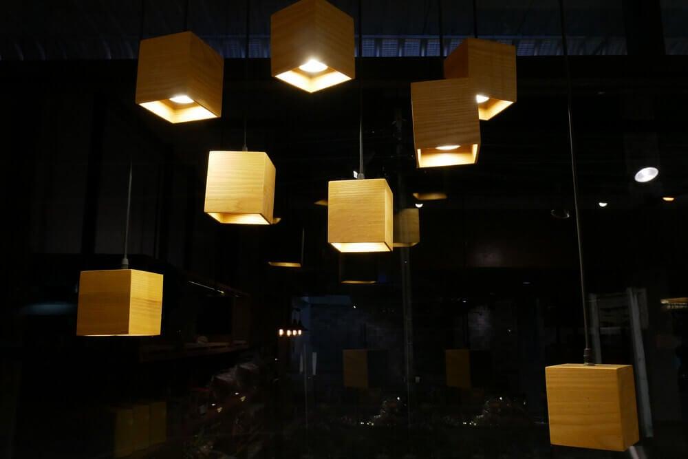 light cubes design