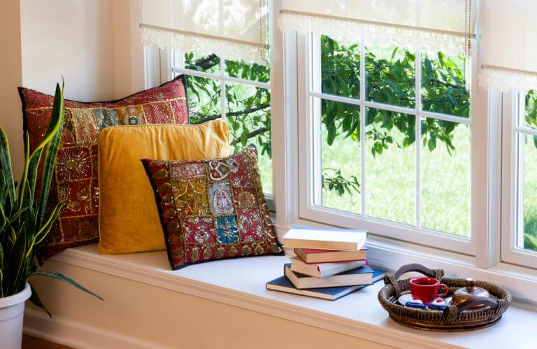 A quiet corner is an important aspect of a happy house