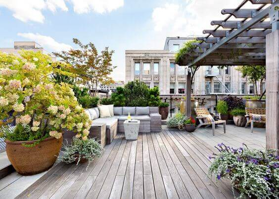 rooftop terrace alternative