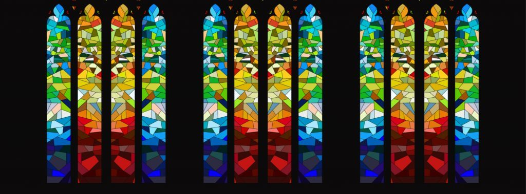 stained glass type