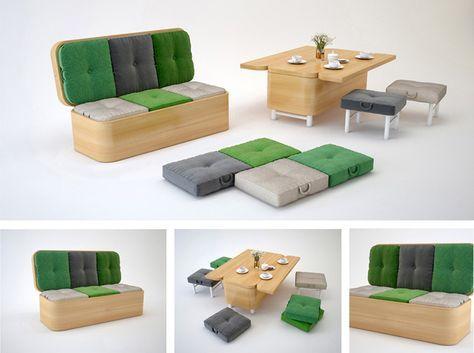 2020 modular adaptable furniture