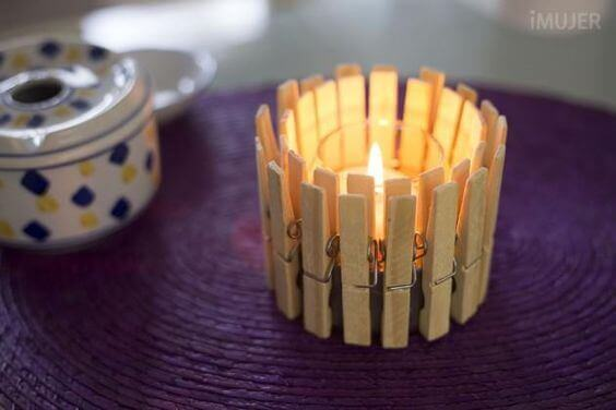 candle holders craft