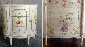 Spring decor: DIY furniture.