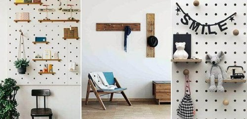 Hanging Pegboards for An Organized Home