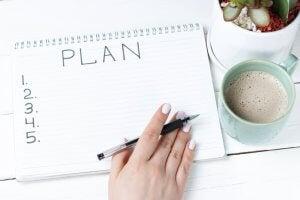 Make a plan.