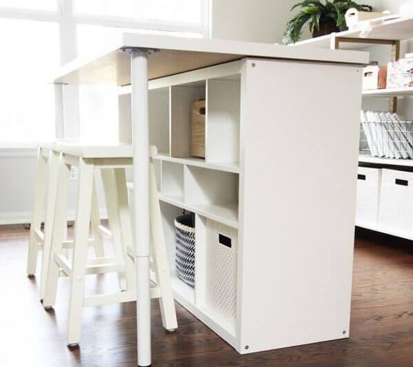 Ikea kallax desk