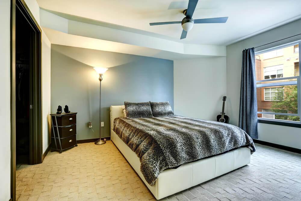 leopard print bed